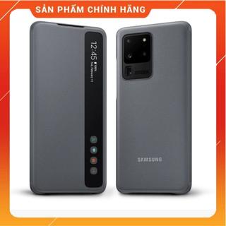 [FREESHIP] Bao Da Clear View Samsung S20 Ultra ✅Vuốt Trả Lời ✅Chống Sốc Chính Hãng