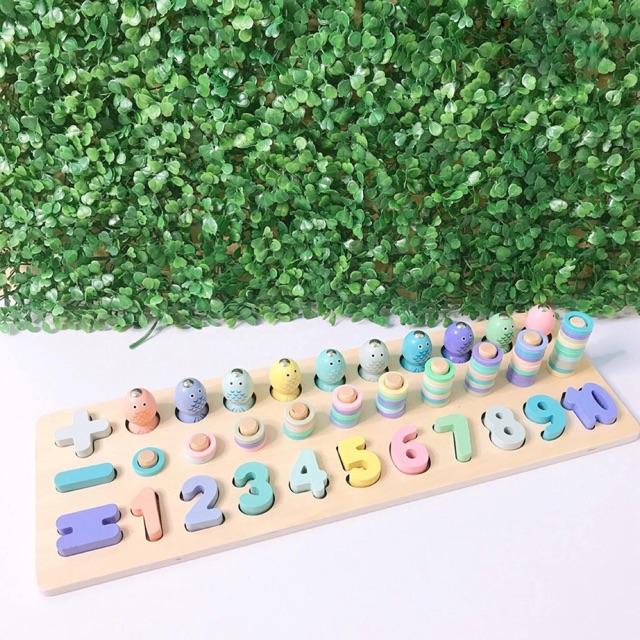 Bộ chơi đếm số cho bé phát triển trí não