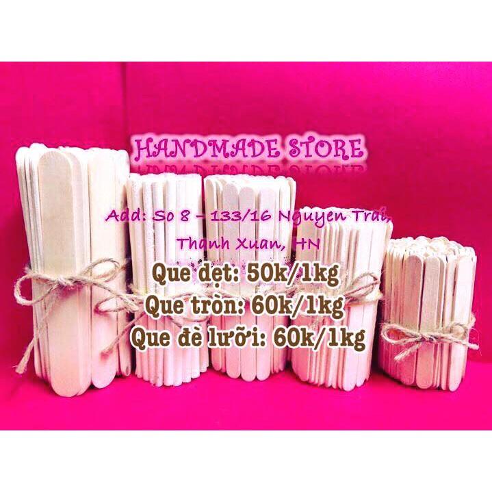 Que kem gỗ - Vật liệu handmade (DIY)