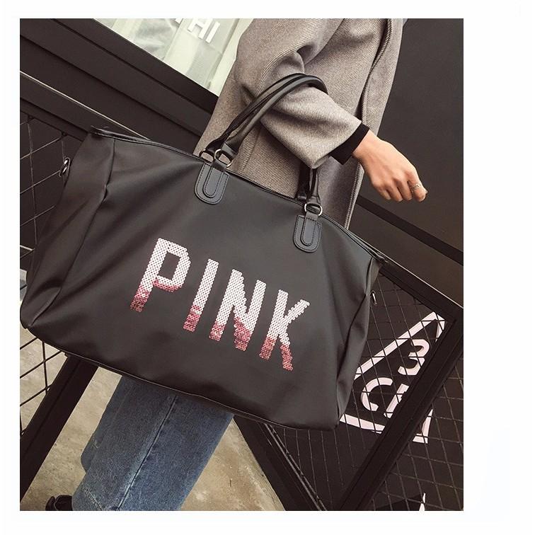 Túi sách Pink kim sa chống nước siêu sang - 3082664 , 1148602249 , 322_1148602249 , 200000 , Tui-sach-Pink-kim-sa-chong-nuoc-sieu-sang-322_1148602249 , shopee.vn , Túi sách Pink kim sa chống nước siêu sang