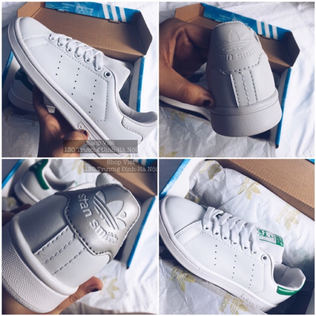 [SALE SHOCK] Giày thể thao Stan Smith orginal xanh, bạc, trắng size 36-39 full box - 2557880 , 988720560 , 322_988720560 , 500000 , SALE-SHOCK-Giay-the-thao-Stan-Smith-orginal-xanh-bac-trang-size-36-39-full-box-322_988720560 , shopee.vn , [SALE SHOCK] Giày thể thao Stan Smith orginal xanh, bạc, trắng size 36-39 full box