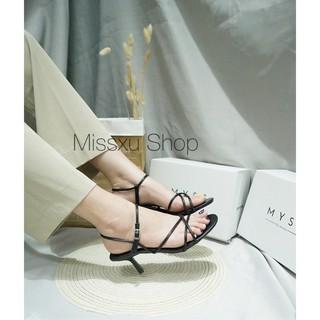 Giày sandal dây mảnh phối ngang 5cm Myss - SD46 thumbnail