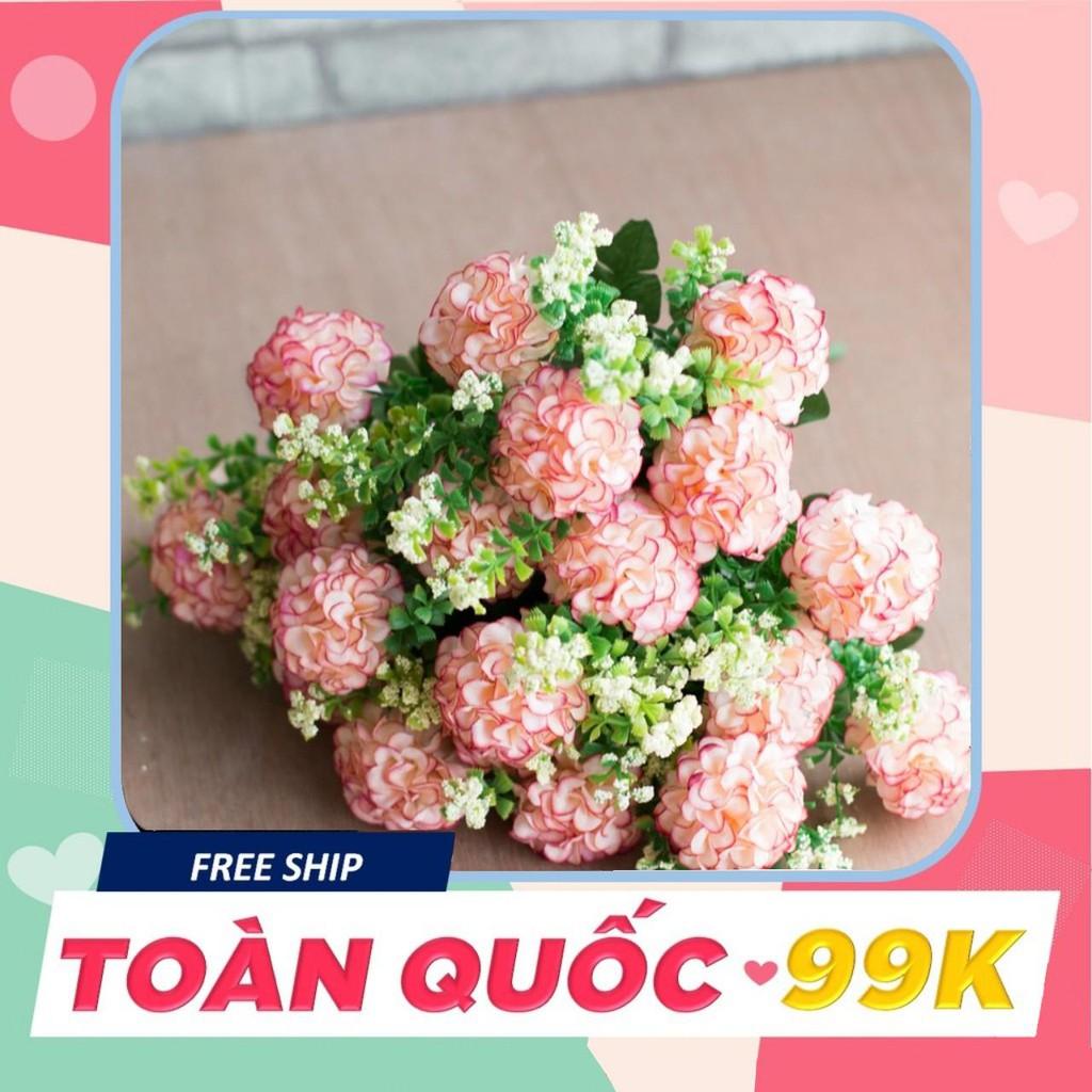 [Giá Tốt] Hoa giả - Chùm hoa cẩm tú cầu