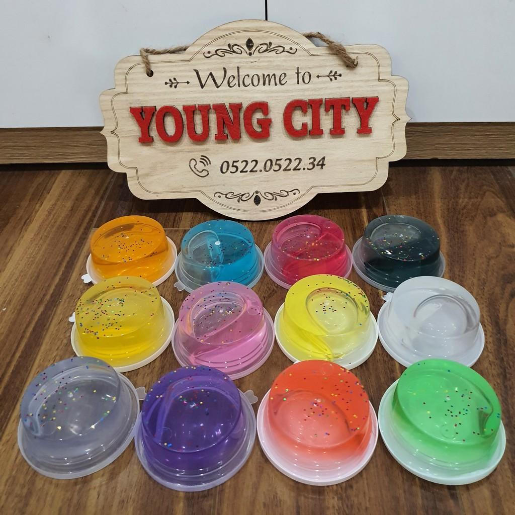 [BAO GIÁ SHOPEE] Chất nhờn ma quái Slime hộp 12 màu hàng siêu hot năm nay