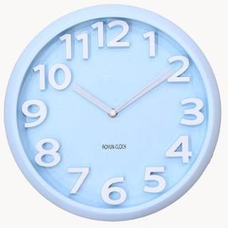 Đồng hồ treo tường kim trôi  Aoyun Clock  (Xanh Ngọc)TI308 (Xanh ngọc)
