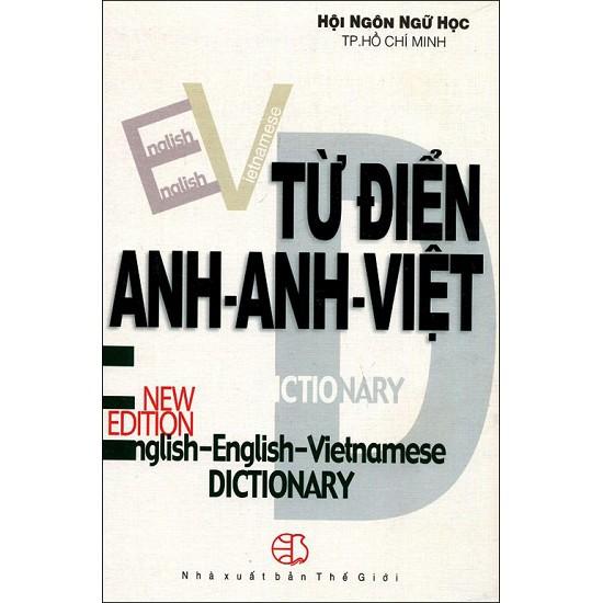 Sách - Từ Điển Anh - Anh - Việt (Khoảng 400.000 Từ)