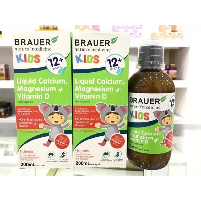 Siro Brauer bổ sung dưỡng chất cho bé từ 12 tháng tuổi
