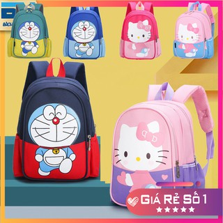 Balo đi học hình Doraemon, Hello Kitty thời trang, xinh xắn cho bé từ 1-6 tuổi