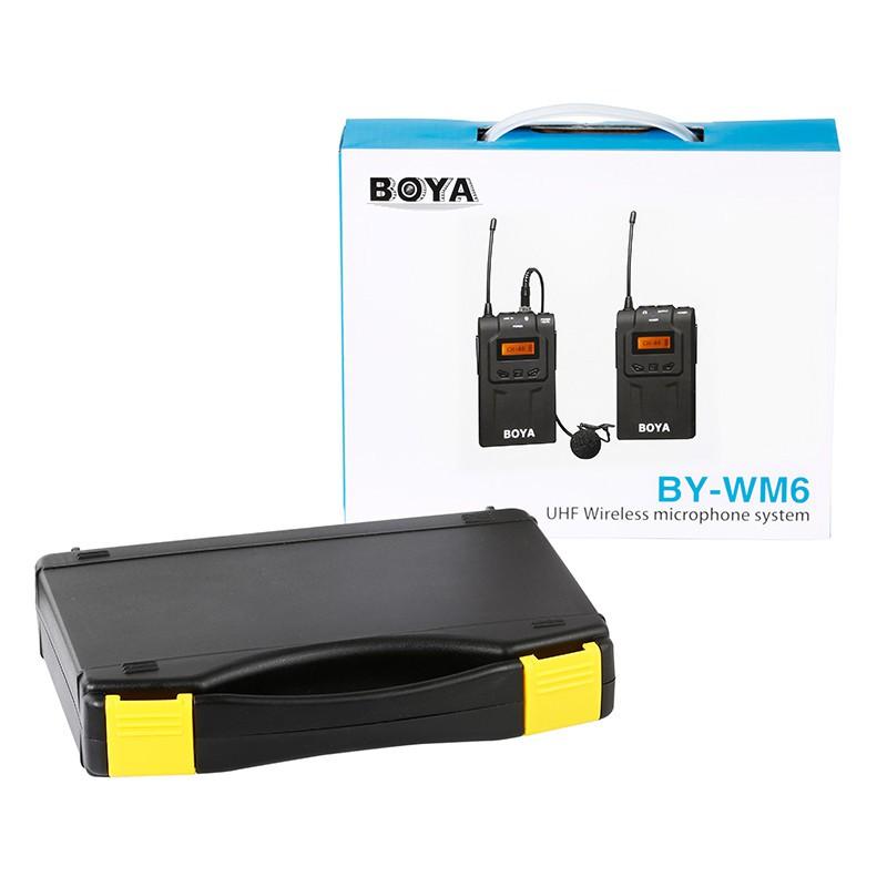 Micro không dây UHF Boya BY-WM6