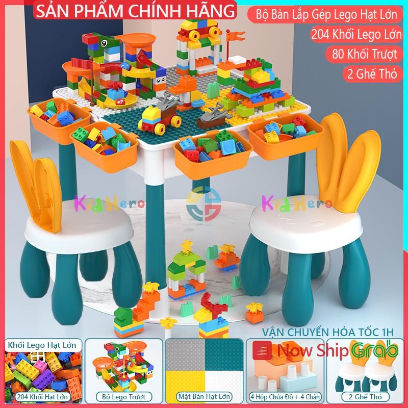 Bàn Ghế Thông Minh Cho Bé – Bàn Vuông Lắp Ráp Lego – Dòng Đồ Chơi Trí Tuệ Kích Hoạt Não