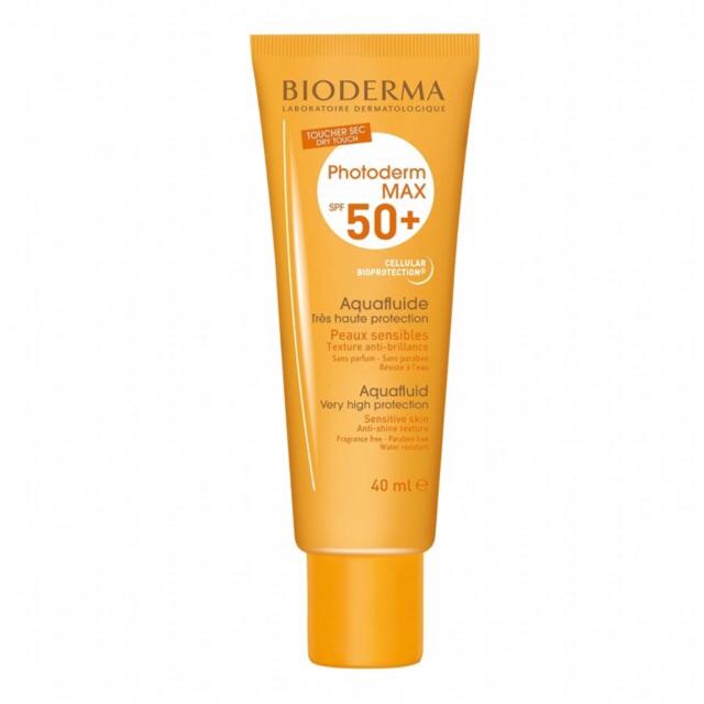 Yêu thíchKem chống nắng Bioderma Photoderm Max Aqua Fluide và Cream SPF 50+
