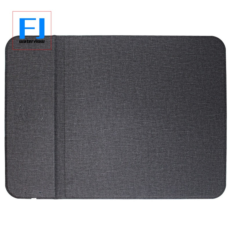 Wireless Charger Multi-Function Mouse Pad Creative Bracket Cloth Pattern Ultra-Thin Desktop 10W Giá chỉ 296.000₫