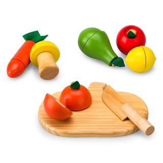 Bộ đồ chơi rau củ quả bằng gỗ Alengkeng