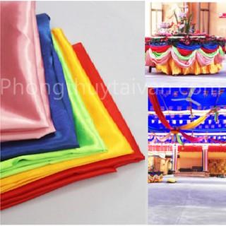 Thảm khăn trải bàn (1.5*1m-5 màu)Phật giáo, thờ cúng, trang trí