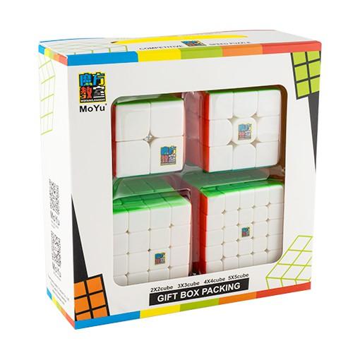 [Nhập mã TOYJUNE giảm 10K]Rubik 2×2 3×3 4×4 5×5 – Combo MofangJiaoshi ( MF ) – Cubing Classroom Gift Box