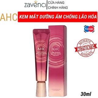 Kem Dưỡng Mắt AHC Ageless Real Eye Cream For Face Dưỡng Ẩm Chống Lão Hoa Vùng Mắt (30ml)