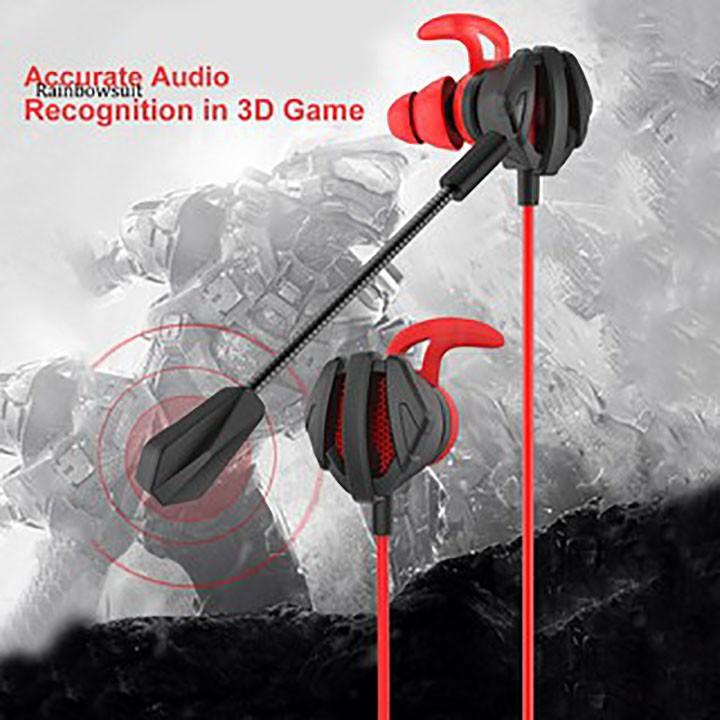 Tai nghe Gaming G9 âm thanh Stereo có Mic chuyên Game Mobile, PC PUBG/FreeFire.