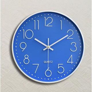 [SALE GIÁ HỦY DIỆT] Đồng hồ treo tường quartz cao cấp kim trôi Xanh Lam Đều