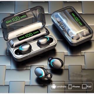 [Mã ELFLASH5 giảm 20K đơn 50K] Tai nghe Bluetooth 5.0 AMOI F9 cảm ứng kiêm xạc dự phòng 2000 mAh