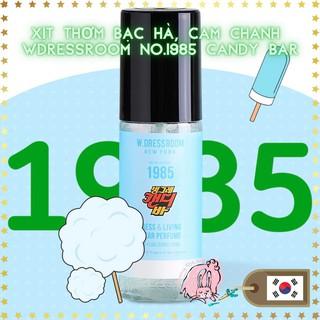 Nước hoa xịt vải Wdressroom No 1985 CANDY BAR 70ml hương bạc hà soda cam dứa (Shop Bunny Beans)