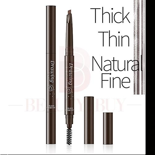 [Hàng mới về] Bút chì kẻ chân mày thiết kế hai đầu kháng nước chống nhòe kiểu dáng tiện dụng 6045