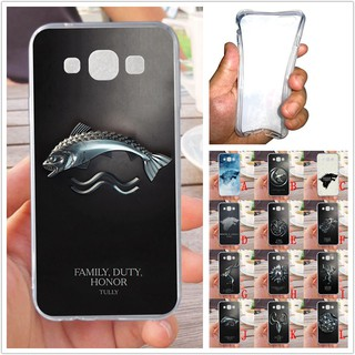 For Samsung Galaxy E7 Fish Soft Silicon Case