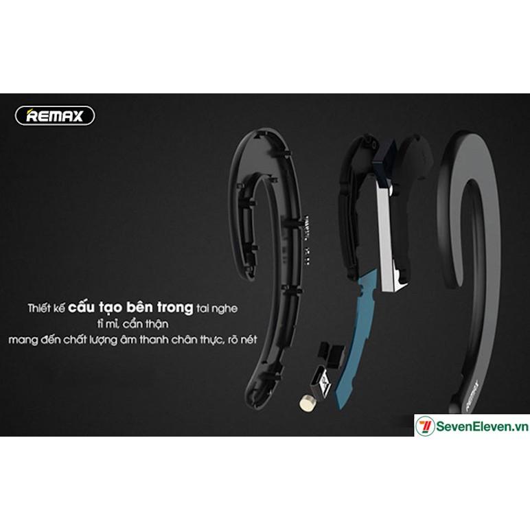 Tai nghe Bluetooth thể thao thương hiệu Remax siêu mỏng cao cấp RB-T20 ( Màu Đen / Xanh / Đỏ / Bạc )
