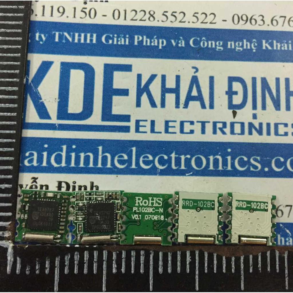 module thu FM TEA5767 nhỏ gọn D44 PL102BC kde3278