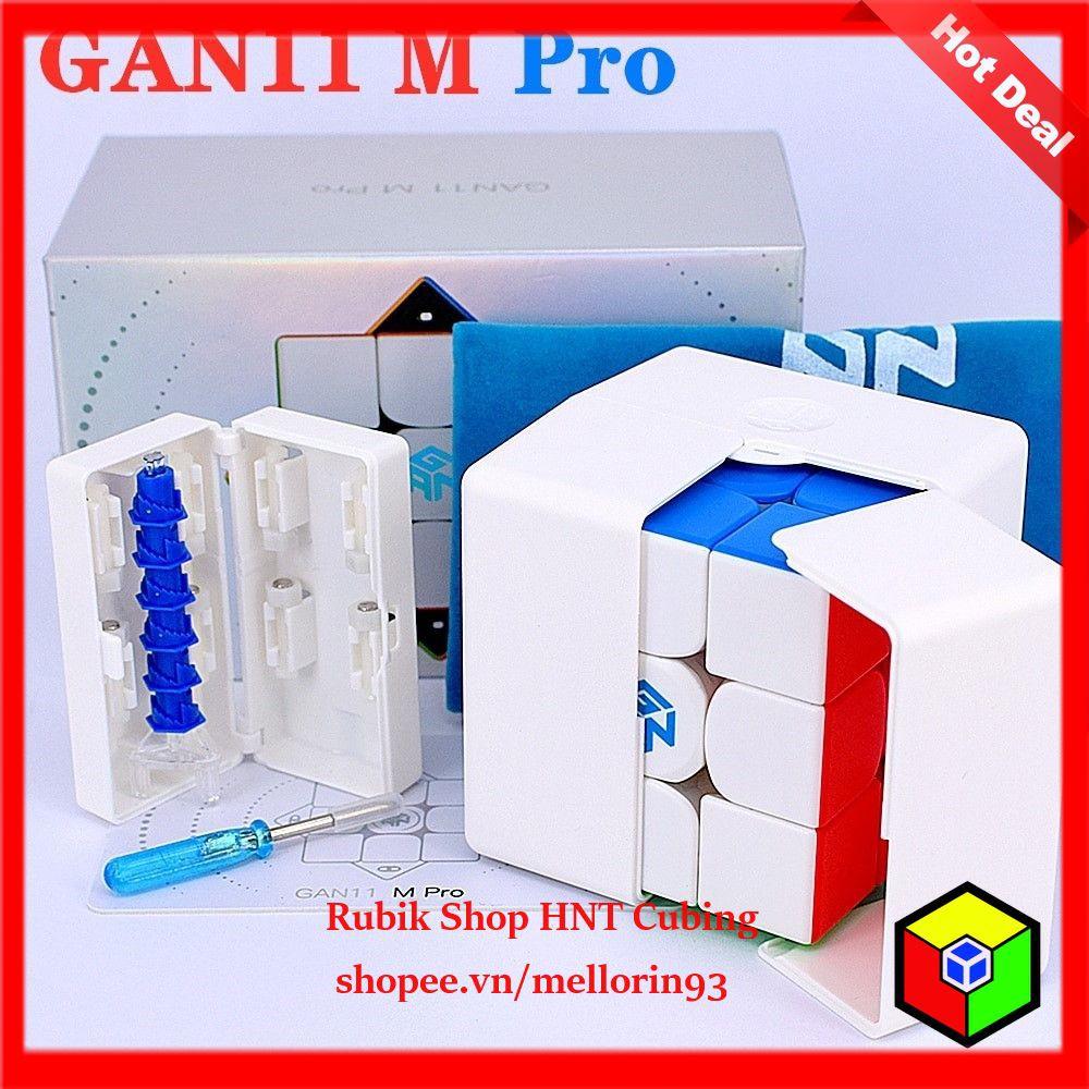 Rubik 3x3x3 Cao Cấp Gan 11 M Pro (Siêu Phẩm 2020 GANCUBE)
