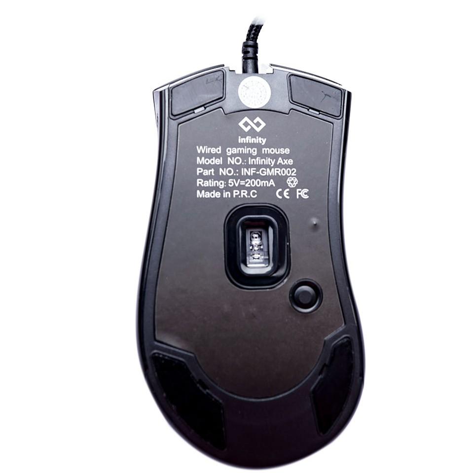 [Mã SKAMA07 giảm 8% đơn 250k]Chuột Gaming Inifnity Axe – Avago 3360 A-RGB 12.000 DPI Progaming Mouse