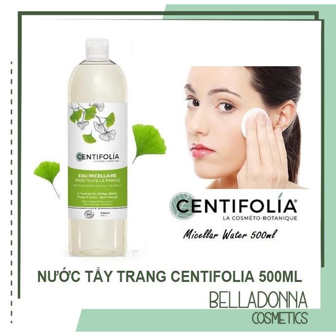 Unbox và review sản phẩm Nước tẩy trang thương hiệu Centifolia
