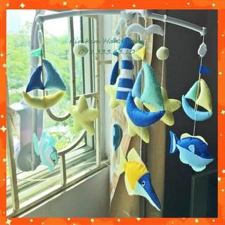 [Rẻ Vô Địch] Treo nôi cá và đoàn thuyền