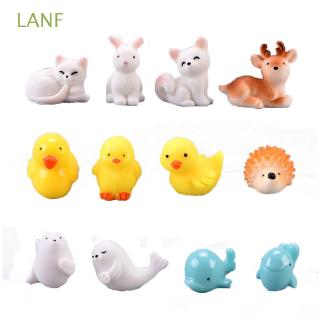 Mô hình đồ chơi động vật trang trí nhà búp bê xinh xắn thumbnail