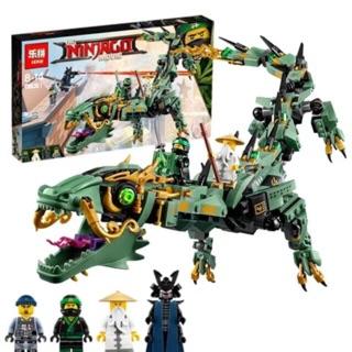 Lego ninja movie 06051 – rồng xanh cỡ lớn