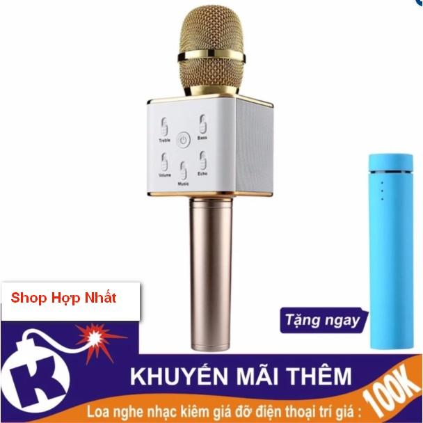 Mic hát Karaoke kiêm Loa bluetooth Q7 + tặng kèm phin dự phòng 3 trong 1 - 2818541 , 317106110 , 322_317106110 , 275000 , Mic-hat-Karaoke-kiem-Loa-bluetooth-Q7-tang-kem-phin-du-phong-3-trong-1-322_317106110 , shopee.vn , Mic hát Karaoke kiêm Loa bluetooth Q7 + tặng kèm phin dự phòng 3 trong 1
