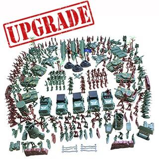 Set Bộ Đồ Chơi 307 Chi Tiết Mô Hình Lính Nhựa War Force Quân Đội