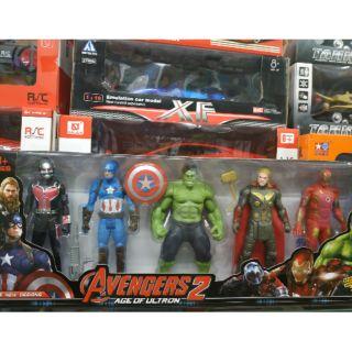 Combo 5 siêu anh hùng Avengers