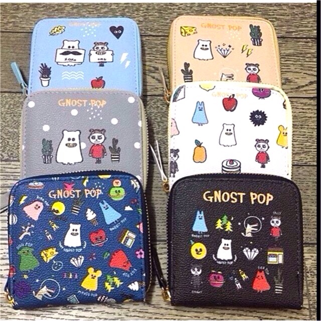 Ví Ngắn Ghost Pop - 2616253 , 24264829 , 322_24264829 , 75000 , Vi-Ngan-Ghost-Pop-322_24264829 , shopee.vn , Ví Ngắn Ghost Pop