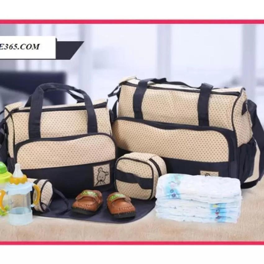 Bộ túi 5 chi tiết mẹ và bé (xanh chấm bi) - 3016796 , 318885245 , 322_318885245 , 420000 , Bo-tui-5-chi-tiet-me-va-be-xanh-cham-bi-322_318885245 , shopee.vn , Bộ túi 5 chi tiết mẹ và bé (xanh chấm bi)