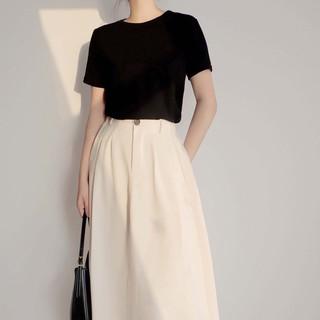 Chân váy Karmen ( Karmen skirt ) – phong cách Hàn Quốc, chân váy chữ a dài made by Tiệm Của JS