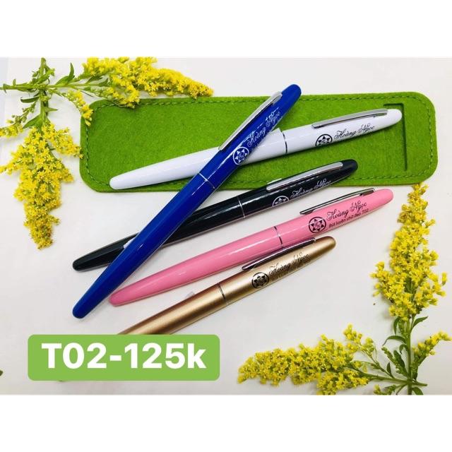 Bút T02 lá tre Hoàng Ngọc