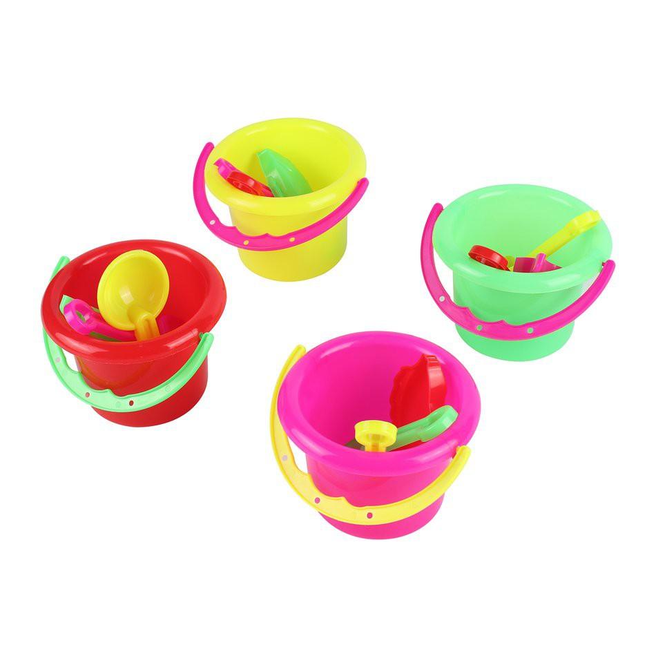 🔶Sf SF Áo khoác vest🔶Bộ 4 đồ chơi xô xúc cát cho bé