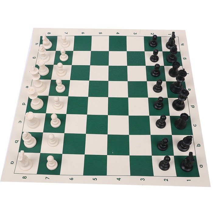 Bộ cờ vua thi đấu cao cấp 50*50cm có hộp nhựa đựng hình tròn
