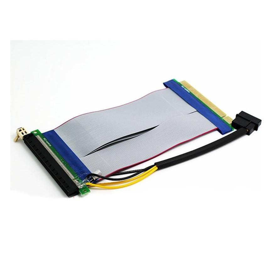 Cáp nối dài PCI-E 16X dài 25cm có cấp nguồn Giá chỉ 144.000₫