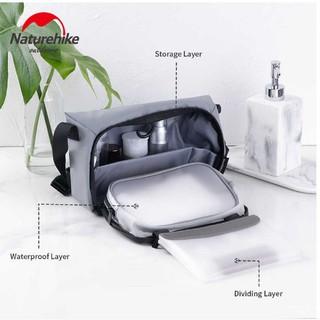 [Sale] Túi đựng đồ cá nhân có ngăn khô, ngăn ướt riêng biệt NATUREHIKE NH19SN004