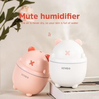 KIVEE JSQ05 Mini Portable  Air Humidifier   With LED Lamp