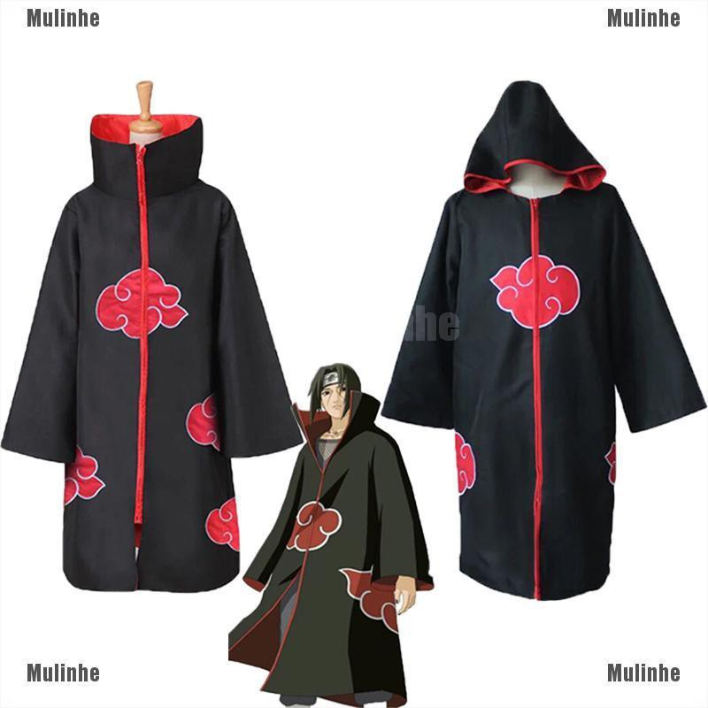 Áo choàng hóa trang nhân vật hoạt hình Akatsuki Itachi chất lượng cao