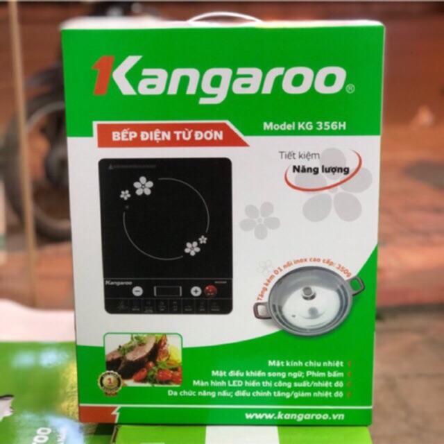 Bếp từ Kangaroo KG356H - tặng kèm nồi lẩu - bảo hành 12 tháng chính hãng toàn quốc- sx 01/2018