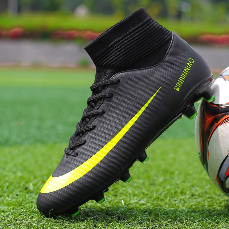 giày đá bóng đá banh Combo Giày Đá Bóng Nam LN2600 + Tất Đá Bóng Cao Cấp kích thước 35-45
