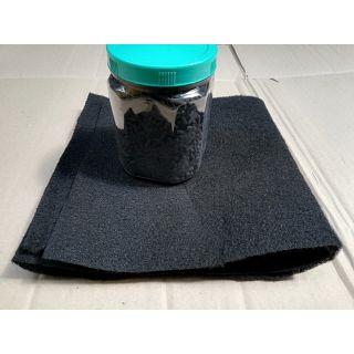 Combo 500g than hoạt tính + 2 miếng vải cacbon khử mùi